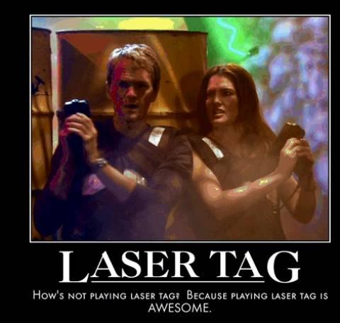 Lasertag - Legendary