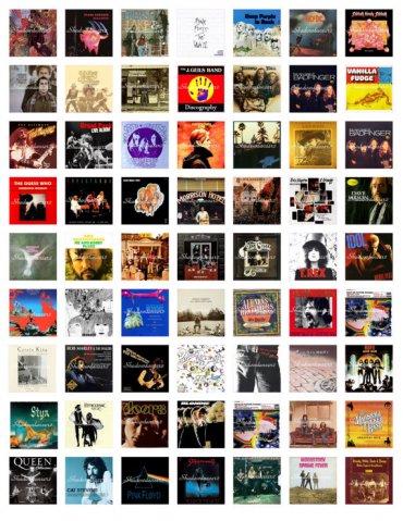 60-70-80'ler (İngiliz) Rock Müziği Hayranları