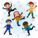 Buz Pateni Seven Çocuklar